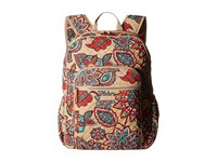 Vera Bradley Iconic Campus Backpack Desert Floral Backpack Bags White