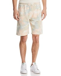 Wesc Marty Camouflage Sweat Shorts Gray Woodland