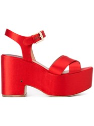 Laurence Dacade Helissa Sandals Red