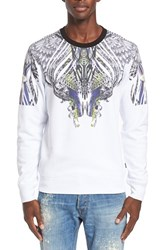 Men's Just Cavalli Print Crewneck Sweatshirt