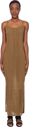 Damir Doma Long Bronze Tone Tank Dress
