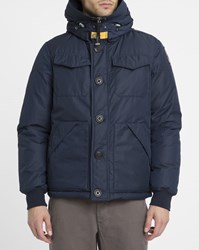 Parajumpers Navy Parker Multi Pocket Parka Blue