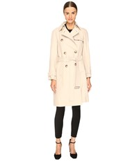Sportmax Veber Long Peacoat Beige Women's Coat