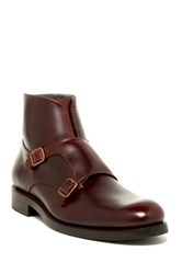 Wolverine Myles Double Monk Strap Boot Brown