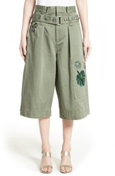Marc Jacobs Women's Cotton Sateen Cargo Shorts