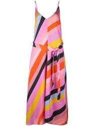 Stine Goya Gianna Striped Dress Pink