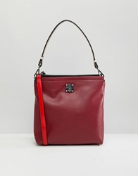 Fiorelli Beaumont Satchel Bag Ruby Red