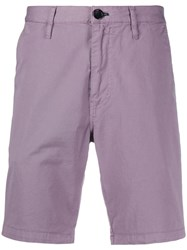 Paul Smith Ps Plain Chino Shorts Purple