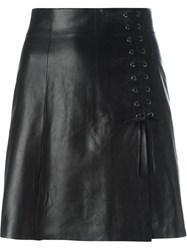 Plein Sud Jeans Plein Sud Lace Up Detail Skirt