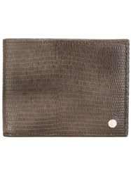 Orciani Billfold Wallet Brown