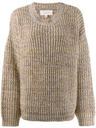The Great Great. Knitted Jumper Neutrals