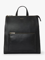 Modalu Hensley Leather Backpack Black