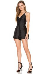 Finders Keepers About You Playsuit Black