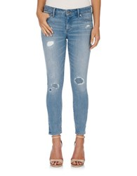 Lucky Brand Light Wash Distressed Denim Ideal