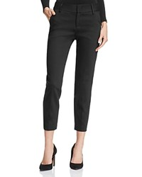 Alice Olivia Stacey Cropped Slim Pants Black