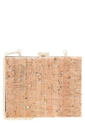Kiomi Clutch Natural Mottled Beige