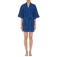 Eres Women's Short Sleeve Robe Navy