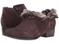 Seychelles Snare Cozy Dark Brown Suede Fur Women's Pull On Boots