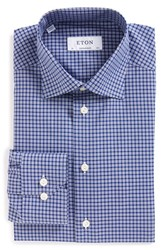 Men's Eton Contemporary Fit Check Dress Shirt