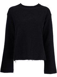 Simon Miller Crew Neck Jumper Black