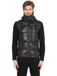 Moncler Wool And Nylon Down Ski Jacket