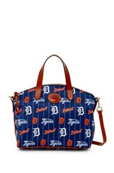 Dooney And Bourke Tigers Small Gabriella Blue