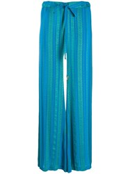 Zeus Dione Striped Relaxed Trousers 60