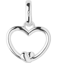 Links Of London Tie The Knot Sterling Silver Heart Charm