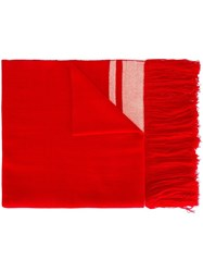 Isabel Marant 'Carlyn' Scarf Red