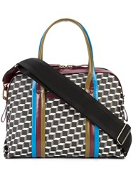 Pierre Hardy Rally Tote Women Patent Leather Canvas One Size