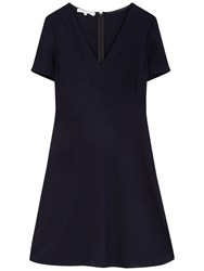 Gerard Darel Domencia Dress Navy Blue