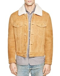 Marc Jacobs Colorado Shearling Jacket Beige