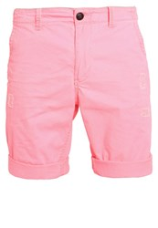 Petrol Industries Shorts Fiery Coral Red