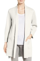 Eileen Fisher Women's Silk And Organic Cotton Kimono Cardigan
