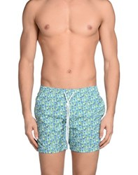 Barba Swimwear Swimming Trunks Men Green