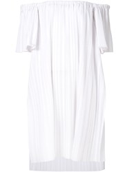 Adam By Adam Lippes Adam Lippes Off The Shoulder Blouse White