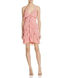 Alice Olivia Lavinia Ruffle Dress 100 Exclusive Dusty Rose