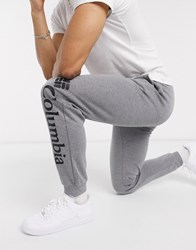 Columbia Lodge Knit Jogger In Charcoal Grey