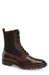 Men's To Boot New York 'Edwards' Lace Up Genuine Shearling Lined Boot