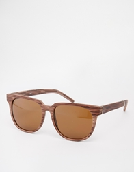 A. J. Morgan Aj Morgan Wayfarer Sunglasses Brown