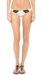 Tyler Rose Swimwear Bruce Bikini Bottoms Cream