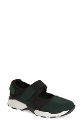 Marni Mary Jane Sneaker Women Green White Black