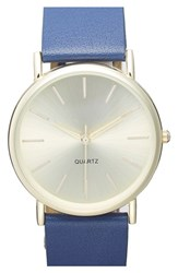 Junior Women's Bp. Round Face Watch 35Mm Navy