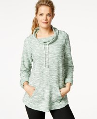 Styleandco. Style And Co. Sport Funnel Neck Kangaroo Pocket Sweatshirt Only At Macy's