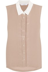W118 By Walter Baker Lucy Silk Top Nude