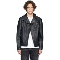 Schott Black Lightweight Cowhide Motorcycle Jacket