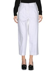 Atos Lombardini Casual Pants White