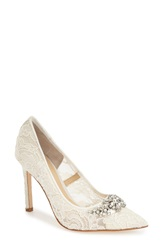 Ivanka Trump 'Camara' Pointy Toe Pump Women Ivory Lace