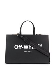 Off White Logo Box Bag Black