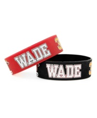 Aminco Miami Heat Wide Bracelet 2Pk Team Color